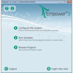Upgrade zu Empower 3 Multi System SW 5 Users & 4 Systems
